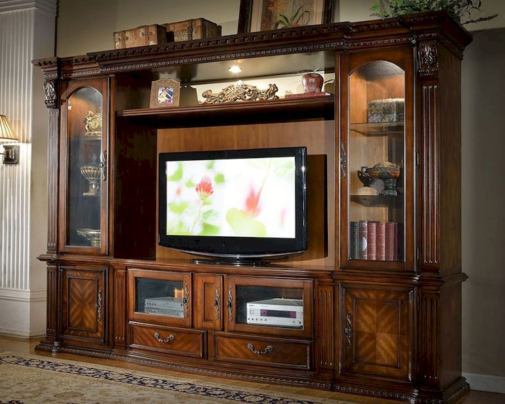 Entertainment Center In Traditional Style Mcfe8100 Set