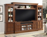 Entertainment Center Wall Unit 72in TV Churchill by Parker House PH-CHU-172-4