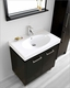 Espresso 32in Single Bathroom Set Harmen by Virtu USA VU-ES-1432-C-ES
