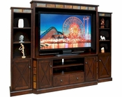 Espresso Entertainment Wall by Sunny Designs SU-3452E