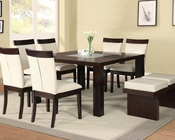 Espresso Finish Dining Set Keelin by Acme Furniture AC71035SET