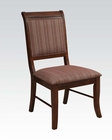 Espresso Side Chair Mahavira by Acme Furniture AC60683 (Set of 2)