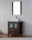 Espresso Single Bathroom Set Dior by Virtu USA VU-KS-70024-WM-ES