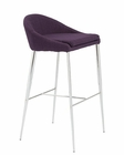 Euro Style Brielle-B Bar Stool EU-38647 (Set of 2)