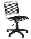 Euro Style Bungie Low Back Office Chair EU-02546
