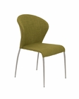 Euro Style Chair in Fabric / Foam Seat and Back Sy EU-38640 (Set of 4)