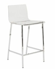 Euro Style Chloe-C Counter Height Stool  EU-80941CLR (Set of 2)