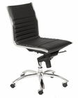 Euro Style Dirk Low Back Armless Office Chair EU-01266