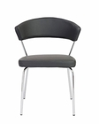 Euro Style Draco Side Chair w/ Curved Back EU-0509-SC (Set of 4)