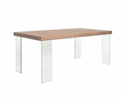 Euro Style Large Dining Table Cabrio-71 EU-096-LDT