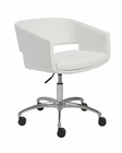 Euro Style Office Chair Amelia EU-17616WHT