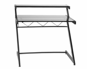 Euro Style Z Deluxe Medium Desk w/ Shelf EU-27401