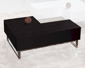 European Design Cocktail Table in Wenge Finish 33CT71