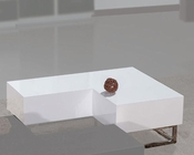 European Design Cocktail Table in White 33CT72