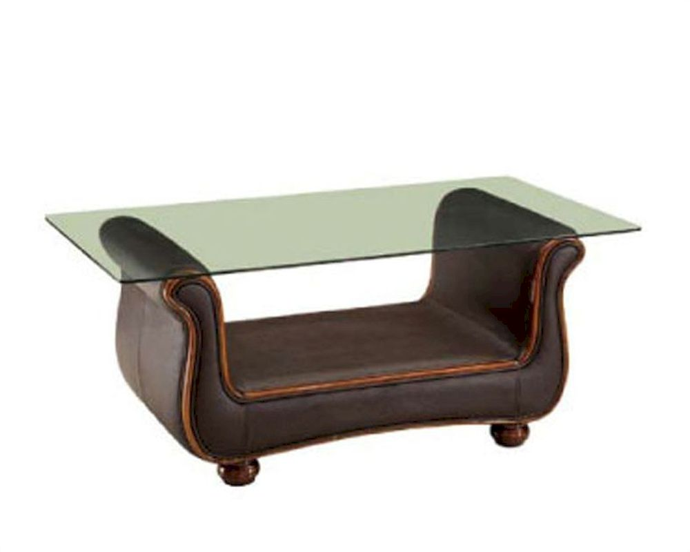 European Design Coffee Table In Brown Finish 33ss65