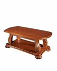 European Design Coffee Table in Light Brown Finish 33SS155