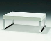 European Design Coffee Table in White 33CT62