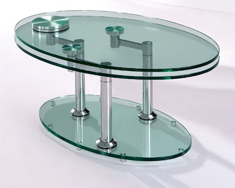European design extendable coffee table 33ct81 - Telescopic coffee table ...