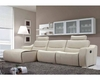 European Design Leather Sectional with Reclining Seats 33LS181
