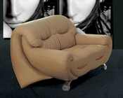 European Design Loveseat in Beige Finish 33SS93