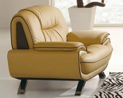 European Design Modern Chair in Light Beige Finish 33SS74