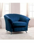 European Design Modern Chair in Vibrant Blue Finish 33SS164