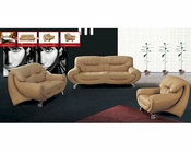 European Design Modern Sofa Set in Beige Finish 33SS91