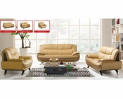 European Design Modern Sofa Set in Light Beige Finish 33SS71