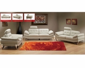 European Design Modern Sofa Set in Light Warm Grey Finish 33SS171