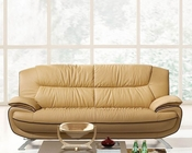 European Design Sofa in Light Beige Finish 33SS72
