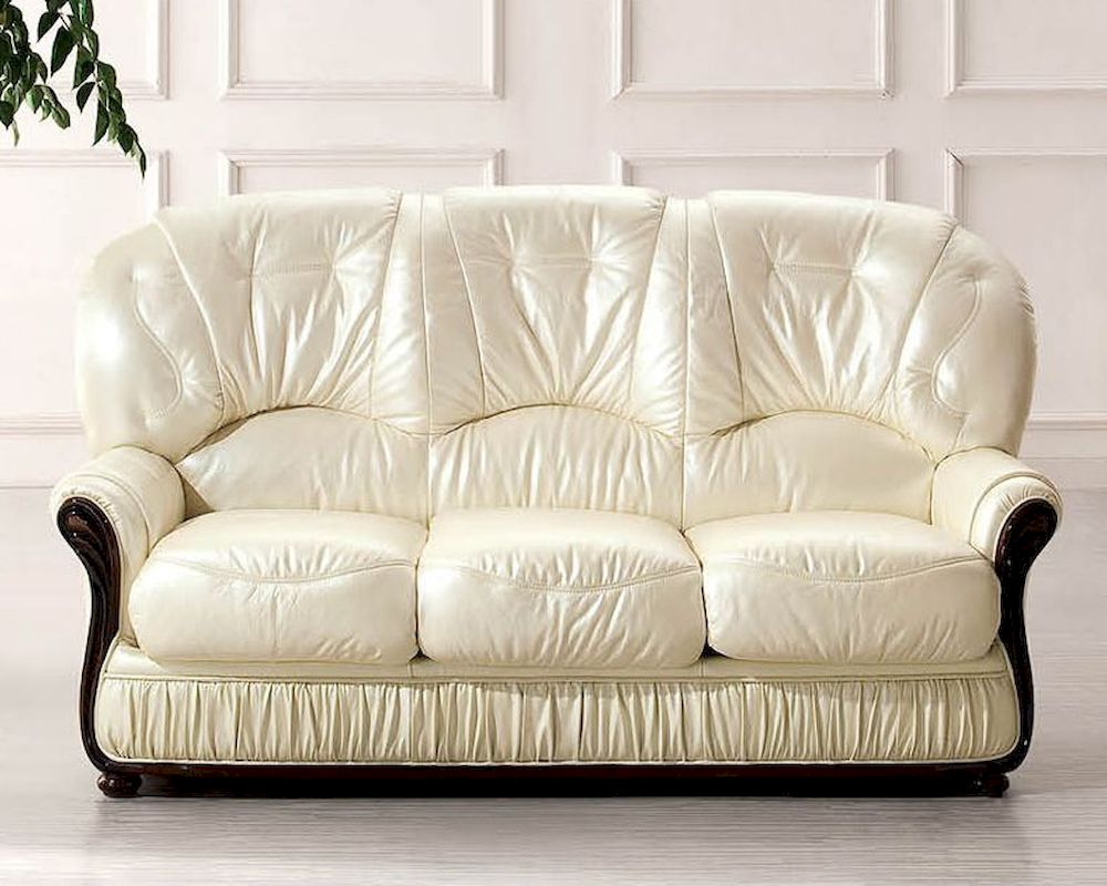 Attractive European Furniture Italian Leather Sofa Bed 33SS32