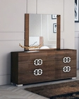 European Style Dresser w/ Mirror in High Gloss 33B624