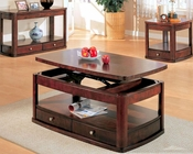 Evans Contemporary Cocktail Table Set with Storage CO70024