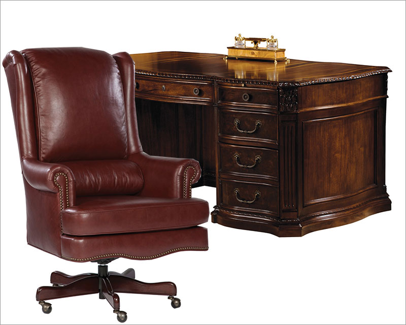executive office set old world by hekman he 79160 set