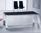Extendable Butterfly Dining Table in Modern Style 44DT086