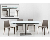 Extendable Contemporary Dining Set 44DSTE-SET
