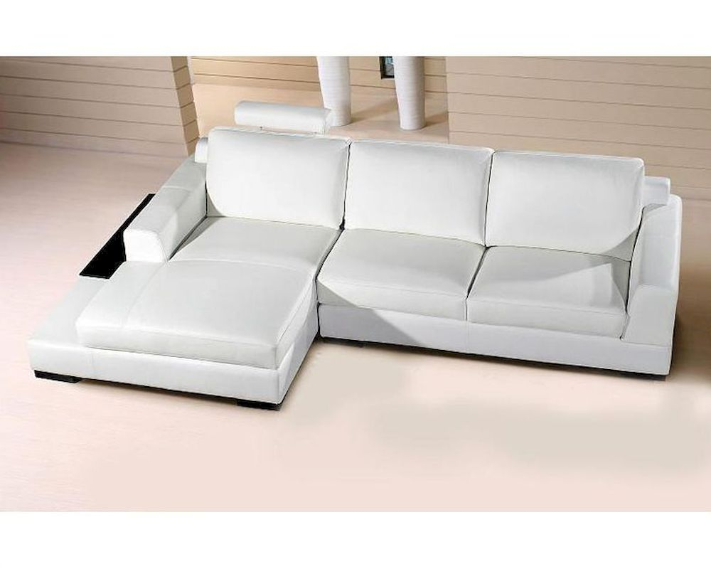extended chaise base sectional sofa white leather