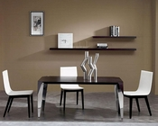 Extreme Wenge Dining Set in Contemporary Style 44DME-SET