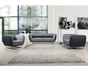 Fabric Sofa Set in Contemporary Style 44L6000
