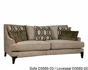 Fairmont Designs Loveseat Monarch in Pebble FA-D3685-02