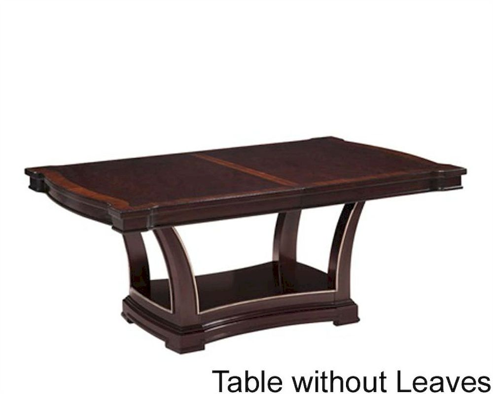 Fairmont designs pedestal dining table monacelli fa c4013 04tb for Dining table stand design