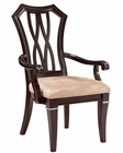 Fairmont Designs Wood Back Arm Chair Monacelli FA-C4013-02 (Set of 2)