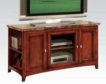 Faux Marble Top Tv Stand By Acme Furniture Ac91000