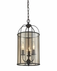 ELK Fenton 3 Light Chandelier in Oil Rubbed Bronze EK-31396-3