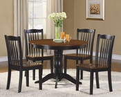 Five-Piece Pack Dinette Set Andover by Homelegance EL-2458-SET