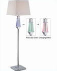 floor lamp w.Led Accent Chrome LS-81825