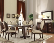 Formal Contemporary Dining Set Balint by Acme Furniture AC71260SET