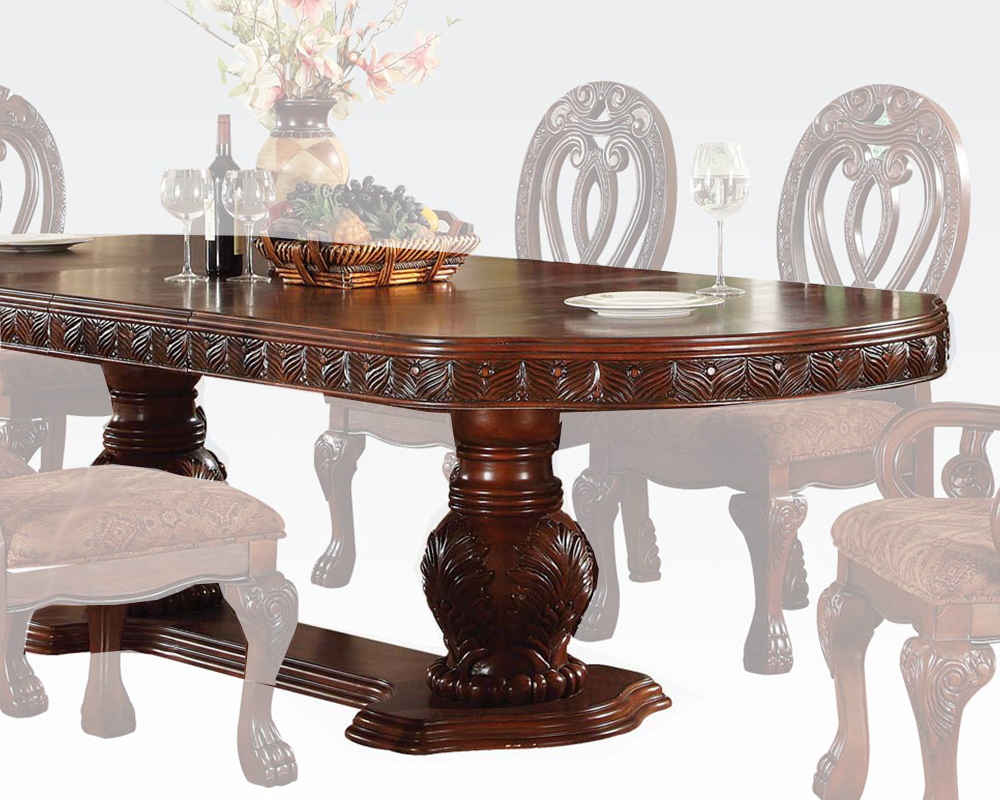 Formal dining table quinlan by acme furniture ac60265 for Formal dining table