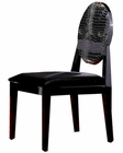Franca Black Side Chair 44DAA018B (Set of 2)