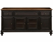 French Black Console Barnhardt by Magnussen MG-E2588-05